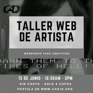 Taller web de artista Juan Downey
