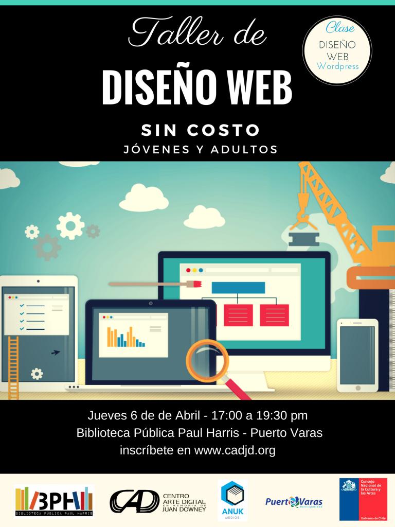 afiche taller web